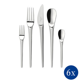 NewMoon table cutlery, 30 pieces