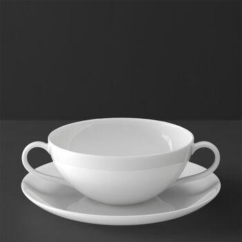 Anmut Soup cup & saucer 2pcs