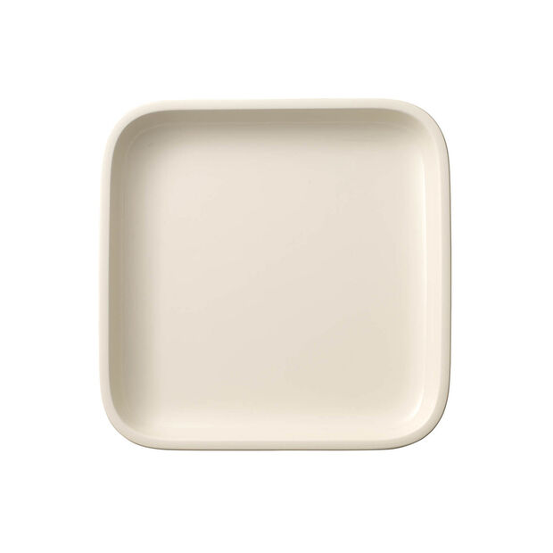 Clever Cooking square serving plate 22 x 22 cm, , large