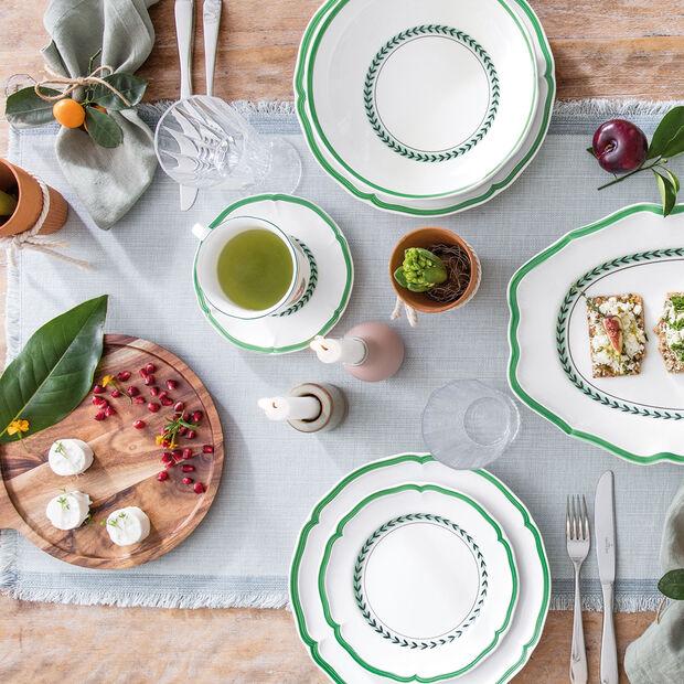 French Garden Green Line breakfast plate, , large
