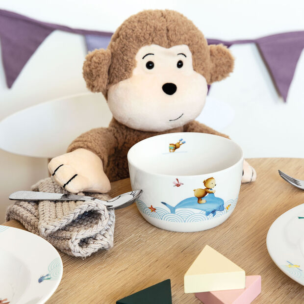 Happy as a Bear Cereal bowl 120x120x70mm, , large