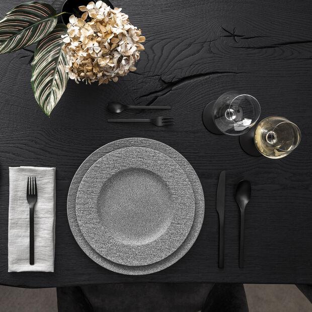 Manufacture Rock Granit dinner plate, 27 cm, Grey, , large