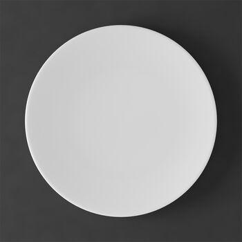 MetroChic blanc Flat plate 27x27x2cm