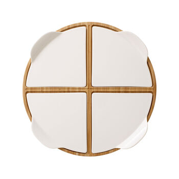 Pizza Passion round party plate