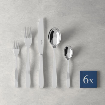 Liam table cutlery 30 pieces, for 6 people