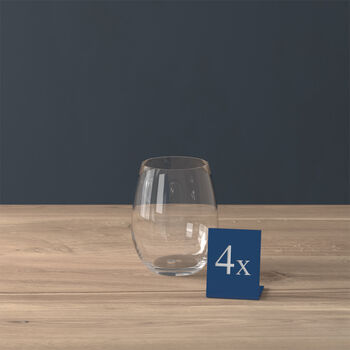 Entrée water glass, 480 ml, 4 pieces