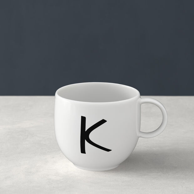 Letters Mug K 13x10x8cm, , large