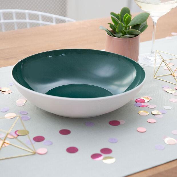 it's my match Green serving bowl Uni, , large