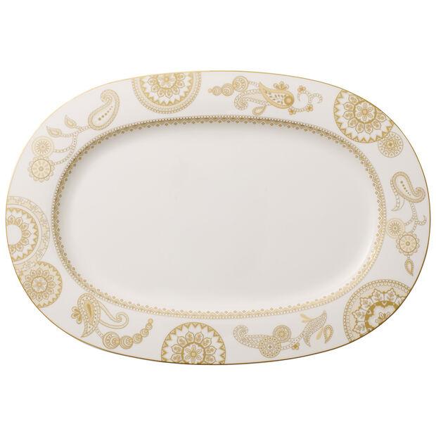 Anmut Samarah Oval platter (2) 41cm, , large