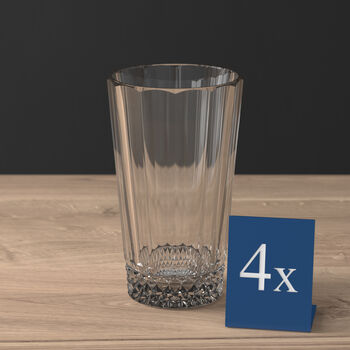 Opéra Smoke long drink glass 4-piece set