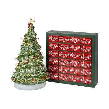 Christmas Toys Memory Advent calendar set, including tree, 26 pieces