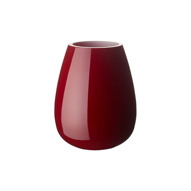 Drop small vase Deep Cherry, , large