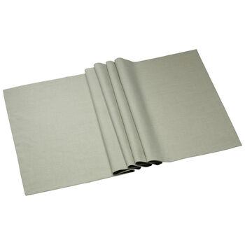 Textil Uni TREND Runner fog green 78 50x140cm