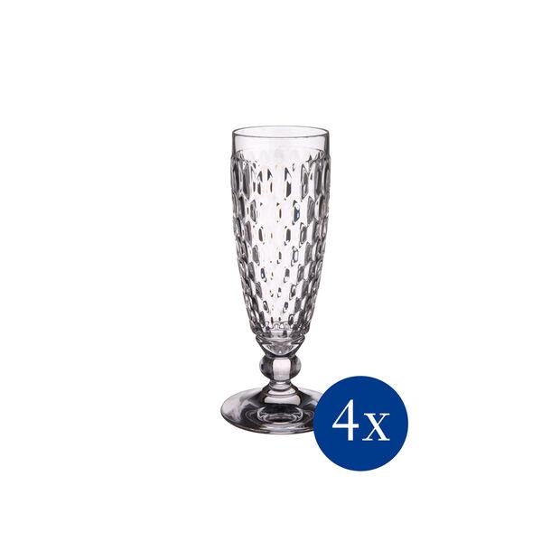 Boston Champagne flute, Set 4 pcs, , large