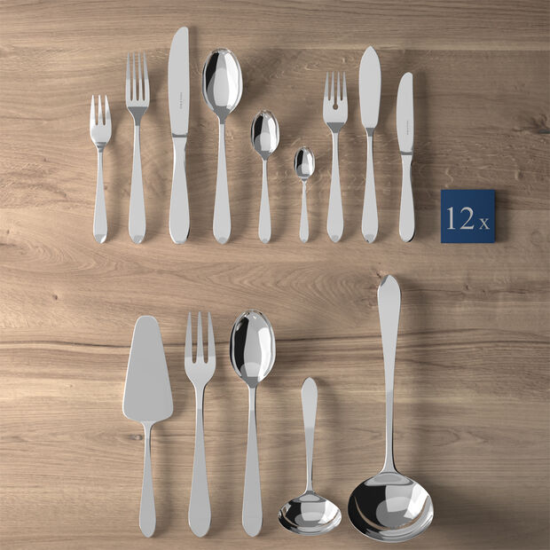 Blacksmith Lunch table cutlery 113 pieces, , large