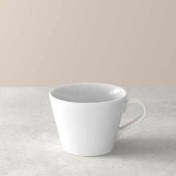 Organic White Coffee cup 12 x 9,5 x 7cm