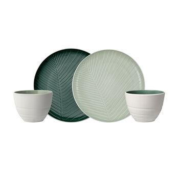 like.by Villeroy & Boch it's my match mineral Shades of Green set, 4 pieces