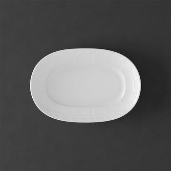 White Pearl pickle dish 22 cm