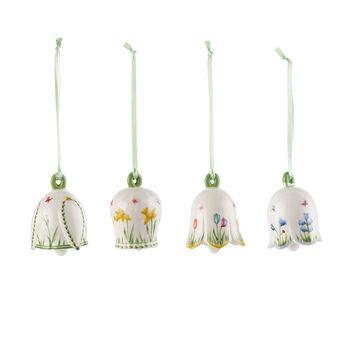 New Flower Bells Ornament set, 4pcs.