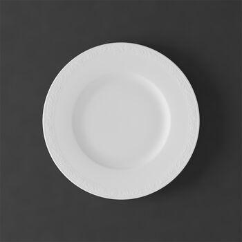 White Pearl breakfast plate