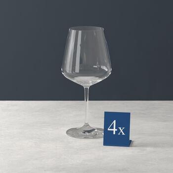 Ovid red wine glass 4-piece set