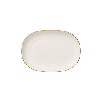 Anmut Gold pickle dish, 20 cm, white/gold