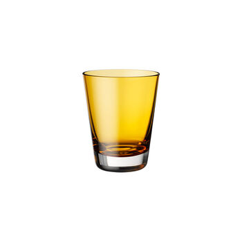 Colour Concept cocktail/water/long drink glass Amber 108 mm