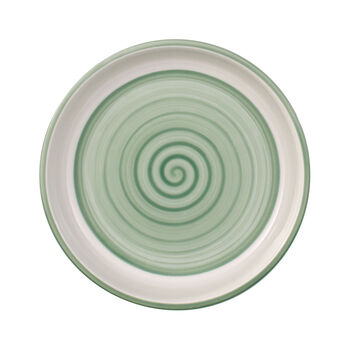 Clever Cooking Green round serving plate 17 cm