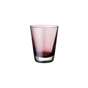 Colour Concept cocktail/water/long drink glass Burgundy 108 mm