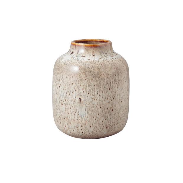 Lave Home shoulder vase, 12.5 x 12.5 x 15.5 cm, Beige, , large
