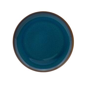 Crafted Denim dinner plate, blue, 26 cm