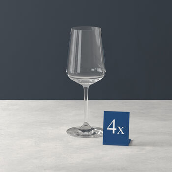 Ovid white wine glass 4-piece set