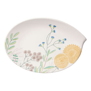 Flow Couture oval plate