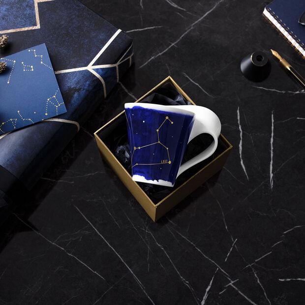 NewWave Stars mug Leo, 300 ml, blue/white, , large