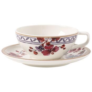 Artesano Provençal Lavender Tea cup & saucer 2pcs