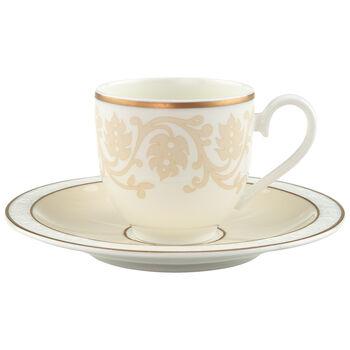 Ivoire Espresso cup & saucer 2pcs
