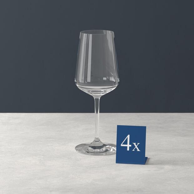 Ovid white wine glass 4-piece set, , large