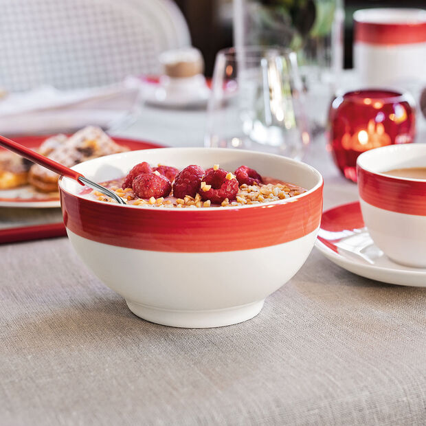 Colourful Life Deep Red French bowl, , large