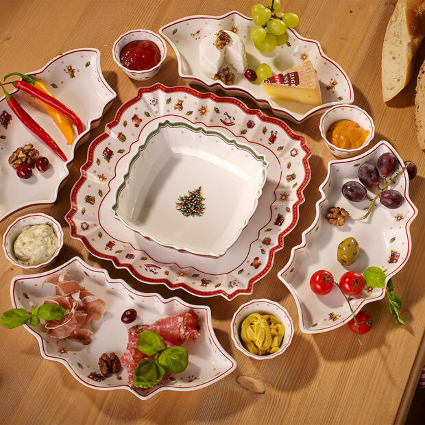 Toy's Delight square serving bowl 16 cm, , large