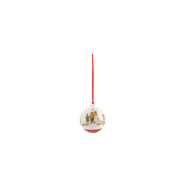 Annual Christmas Edition Ball 2021 6,5x6,5x8cm, , large