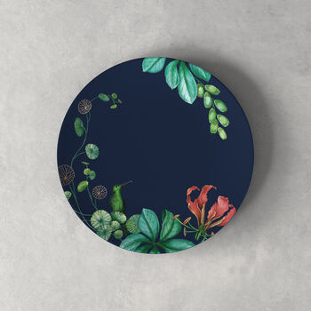 Avarua dessert/breakfast plate, 22 cm, blue/multicoloured
