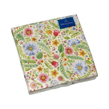 Easter Accessories napkins, flowers, 33 x 33 cm, 20 pieces