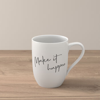 "Statement mug ""Make it happen"""