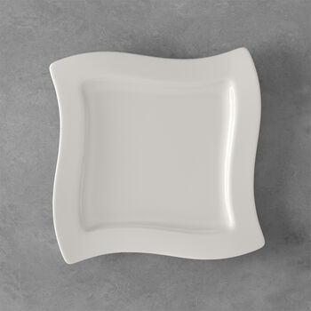 NewWave square breakfast plate