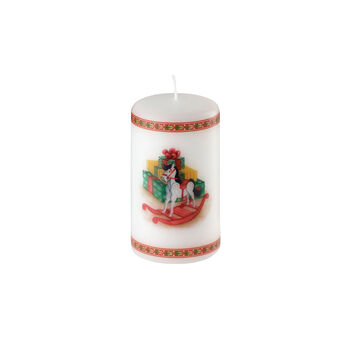 Winter Specials small nutcracker candle