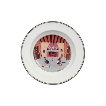 Design Naif Deep plate Fireplace 21cm