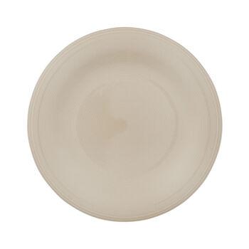Color Loop Sand dinner plate 28x28x3cm