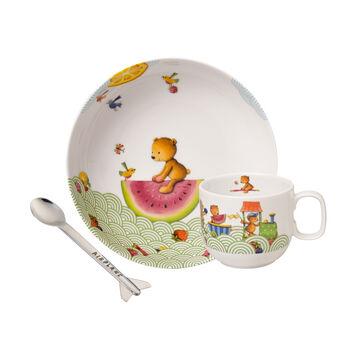 Hungry as a Bear Children's crockery set, 3 pcs.