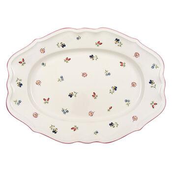 Petite Fleur oval plate 44 cm