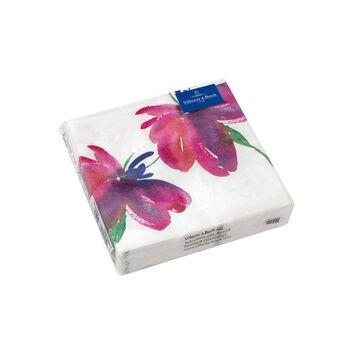 Paper Napkins Artesano Flower Art Cocktail, 20 pieces,  25x25cm
